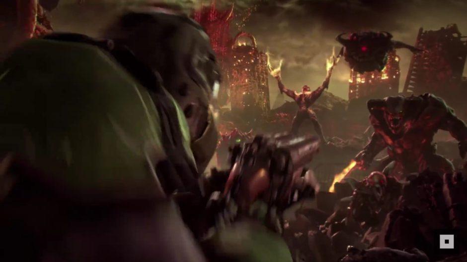 Un nuevo gameplay de DOOM Eternal sale a la luz