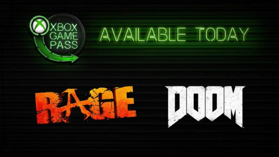 DOOM y RAGE ya están disponibles en Xbox Game Pass