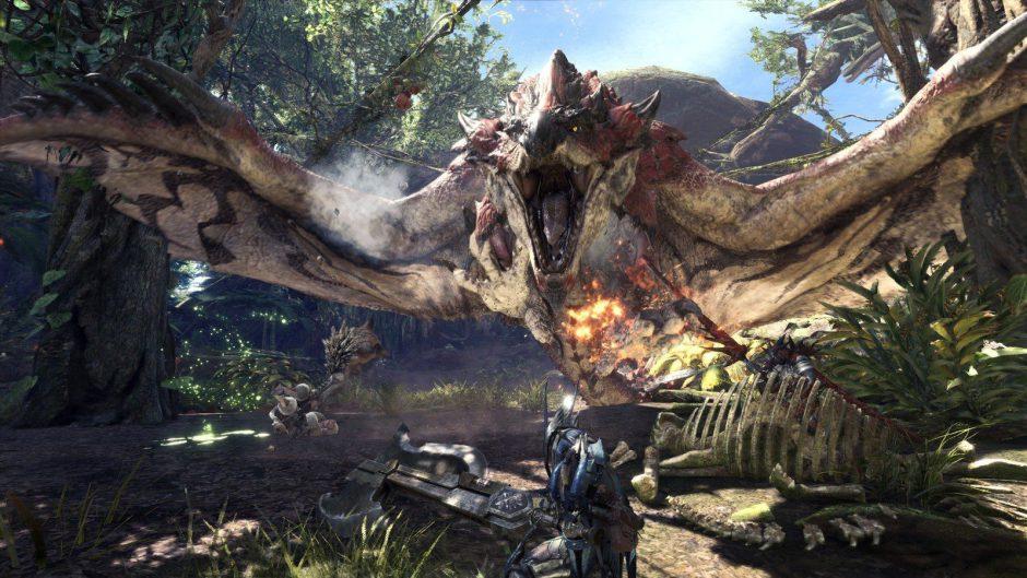 Monster Hunter World lanza el tráiler de su festival del invierno
