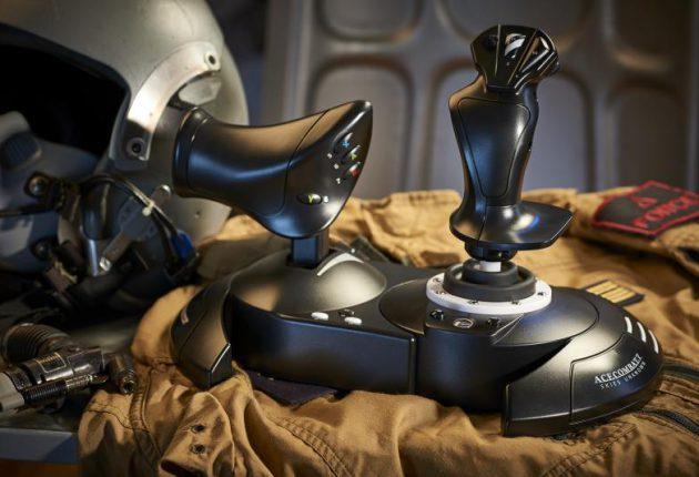 [Gamescom 2018] Thrustmaster anuncia la edición limitada del joystick Ace Combat 7: Skies Unknown 2