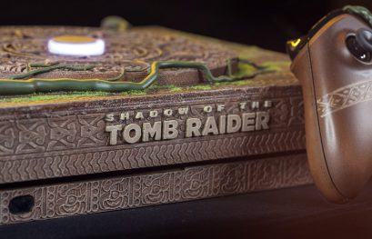 Esta impresionante Xbox One X de Shadow of the Tomb Raider se subasta para una sociedad animalista