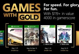 La segunda tanda de Games With Gold ya disponible