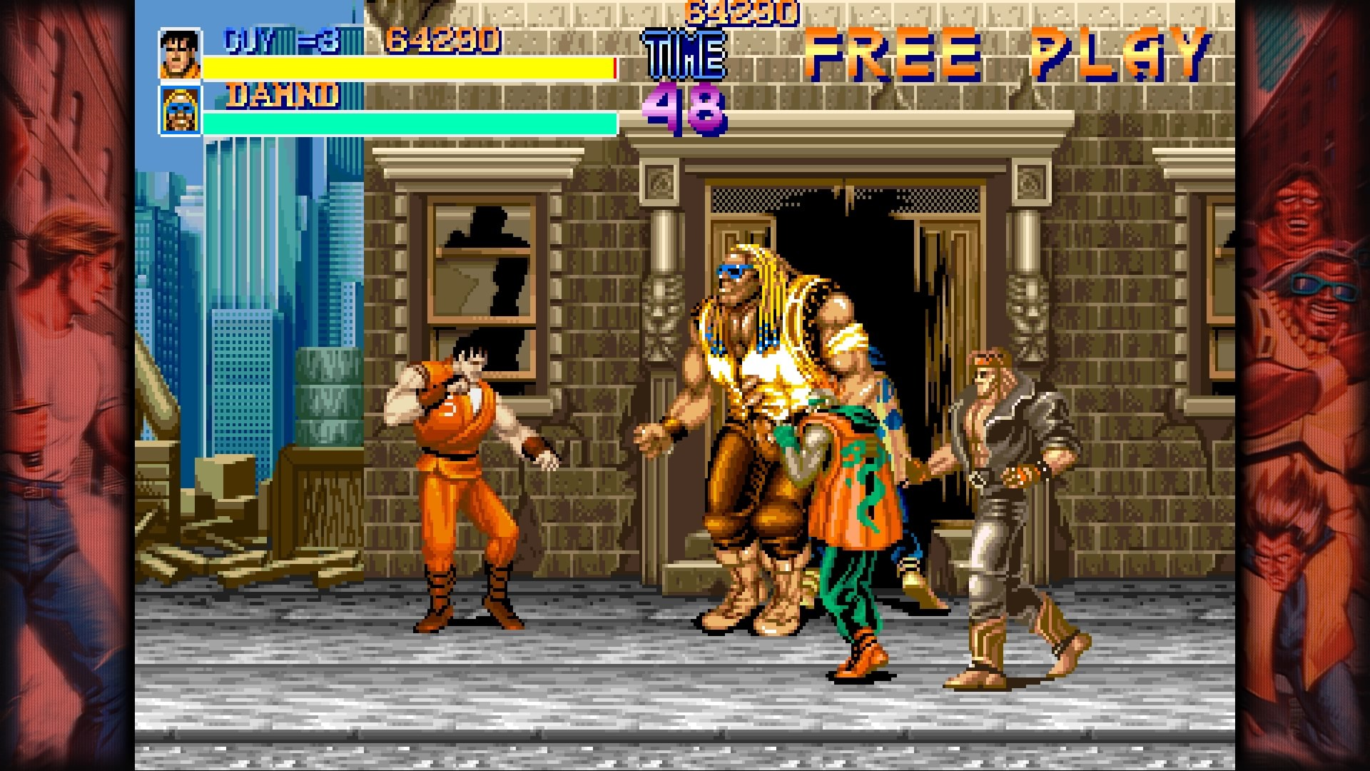 Capcom Beat'em Up