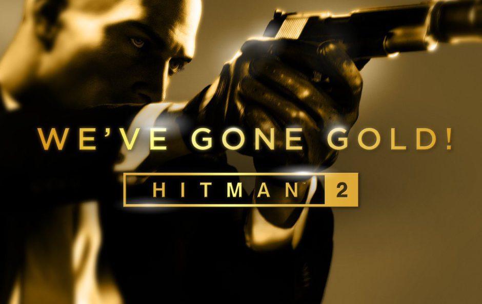 Hitman 2 ya es Gold