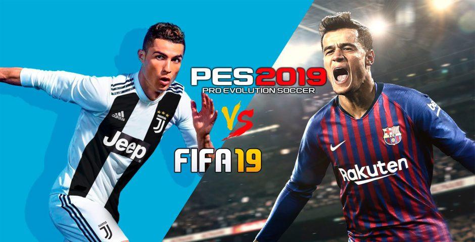 PES 2019 vs FIFA 19 ¿Cúal es el mejor juego de fútbol de este año?
