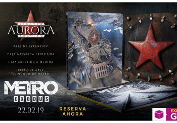La Edición AURORA de Metro Exodus será exclusiva de GAME