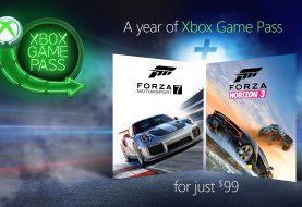 Consigue un año de Xbox Game Pass por 99€ y de regalo llévate Forza 7 y Forza Horizon 3