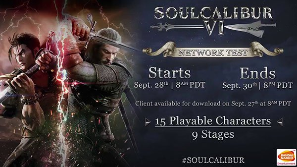 La beta de SoulCalibur VI se estrena la próxima semana con 15 personajes jugables