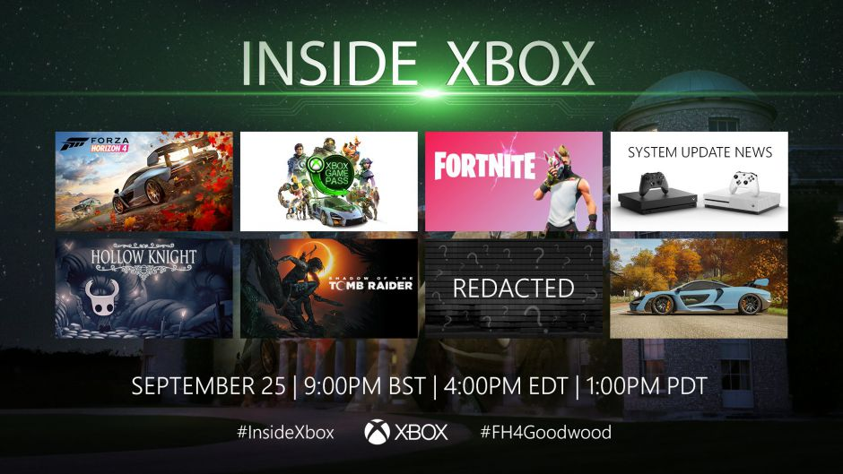 El Inside Xbox de hoy viene con un anuncio sorpresa