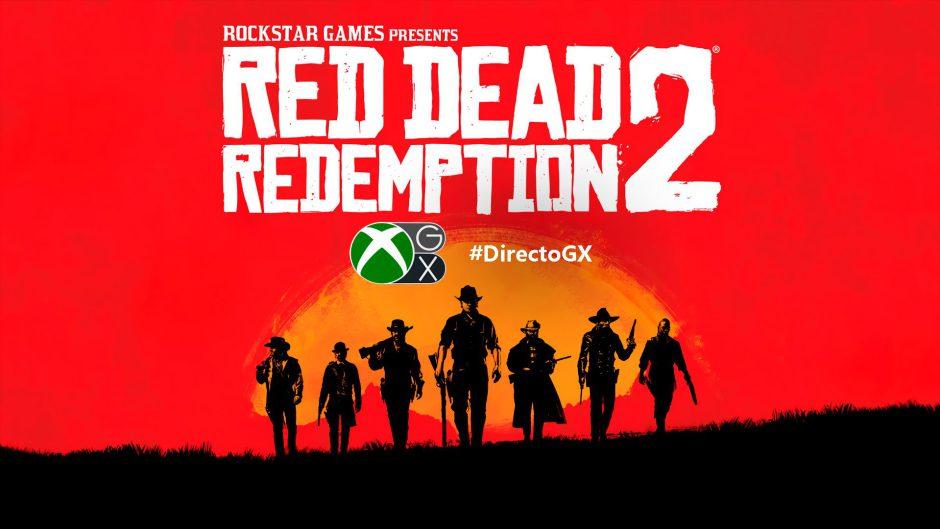 ¡Retransmitiendo Red Dead Redemption 2 en Xbox One X en el #DirectoGX!