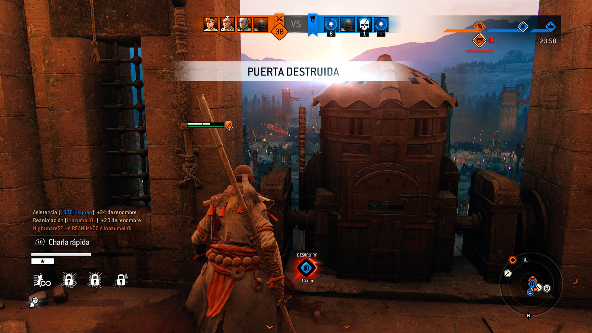 Análisis de For Honor: Marching Fire 3