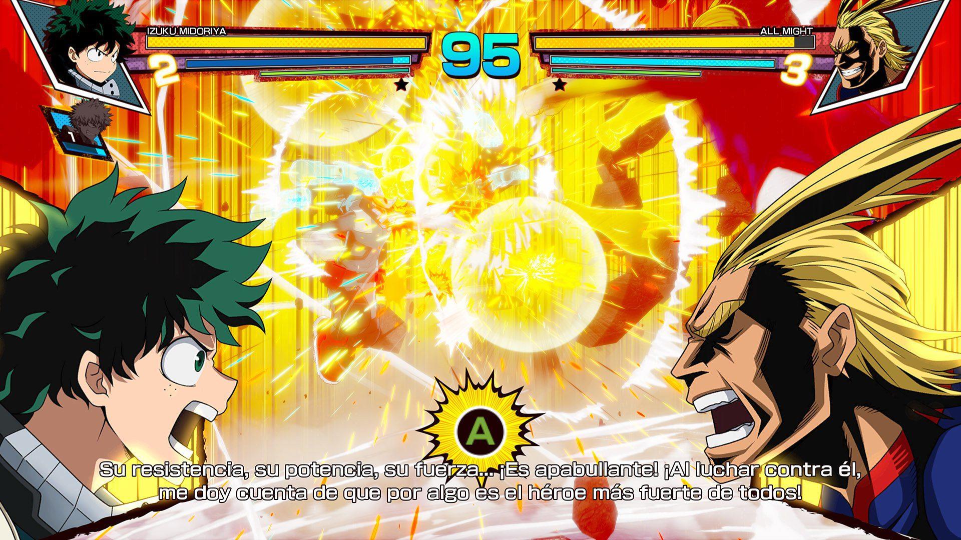 Análisis My Hero One's Justice