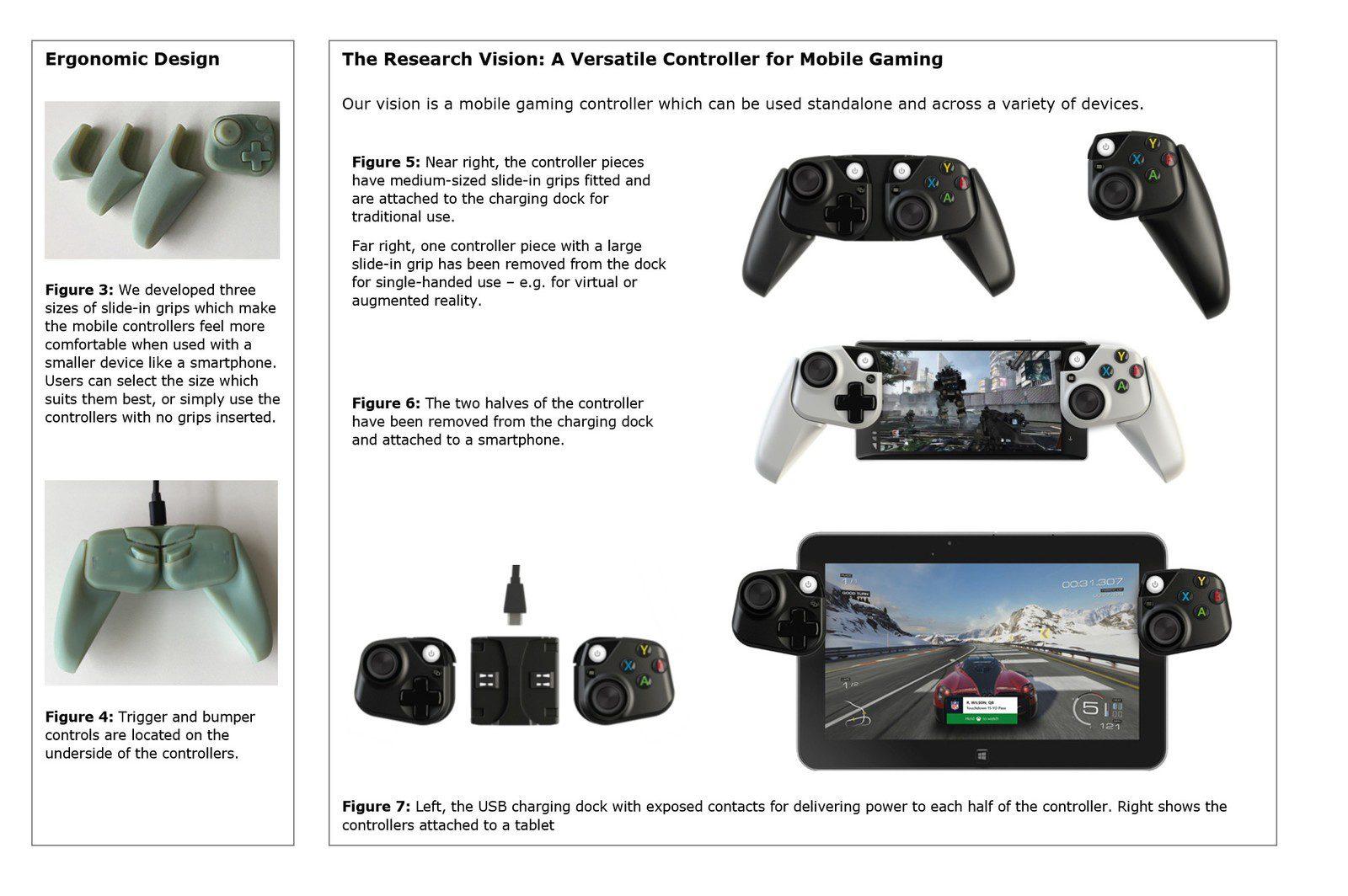 Microsoft estaría trabajando en controladores para dispositivos móviles