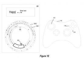 Microsoft patenta un teclado radial para la entrada de escritura con el mando