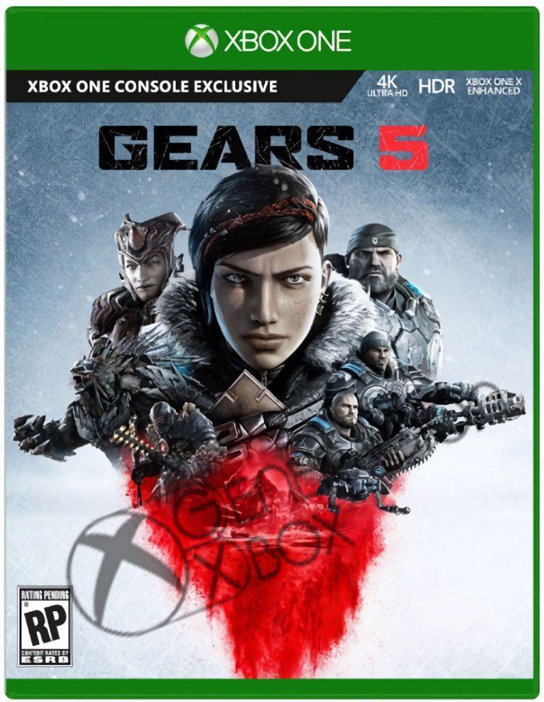 Filtración: Gears 5 muestra su portada y su posible fecha de lanzamiento