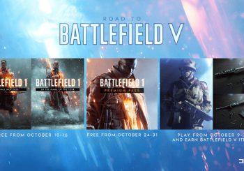 EA regala el Premium Pass de Battlefield 1 y diferentes artículos de Battlefield V