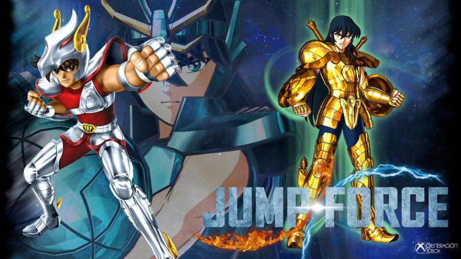 Jump Force: Se confirma Seiya y Shiryu como personajes jugables