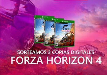 Sorteamos 3 nuevas copias digitales de Forza Horizon 4 para Xbox y Windows 10