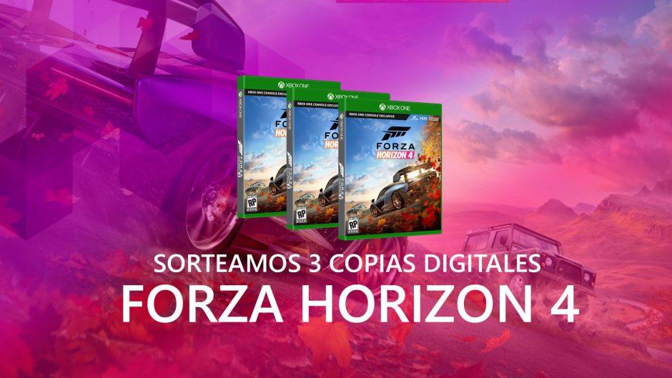 Sorteamos 3 copias digitales de Forza Horizon 4 – Ya tenemos ganadores!!
