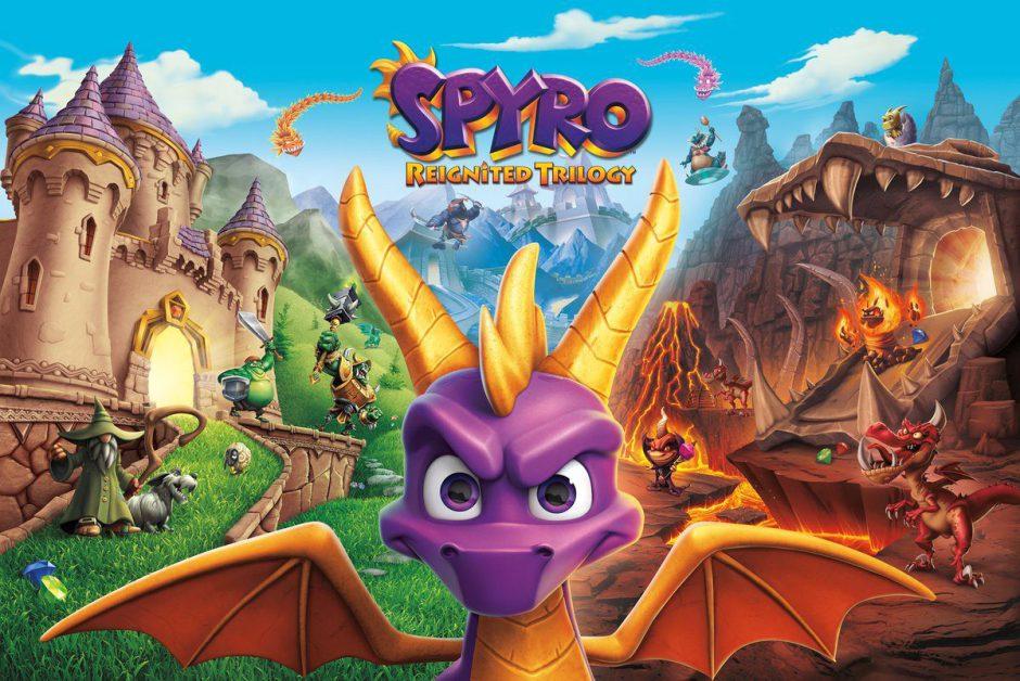 Activision estrena el trailer de lanzamiento de Spyro Reignited Trilogy