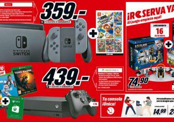 ¡Brutal! Pack Xbox One X + Shadow of the Tomb Raider + FIFA 19 + PUBG + 10€ para la Xbox Store, por 439€