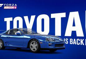 Se rompe la exclusividad del Toyota Supra con con Gran Turismo y llega a Forza Horizon 4