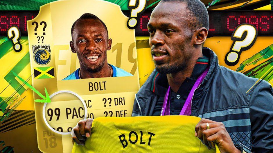 Usain Bolt llegaría a FIFA 19 en una próxima actualización