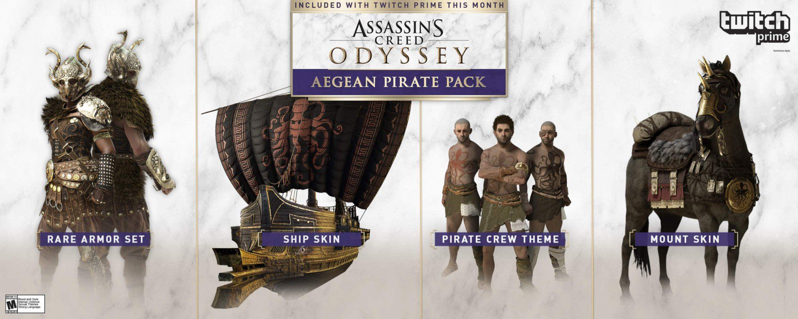 Pack Pirata del Egeo Assassin's Creed: Odyssey