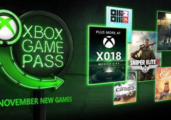 Anunciados 5 nuevos juegos que se unen a Xbox Game Pass en noviembre
