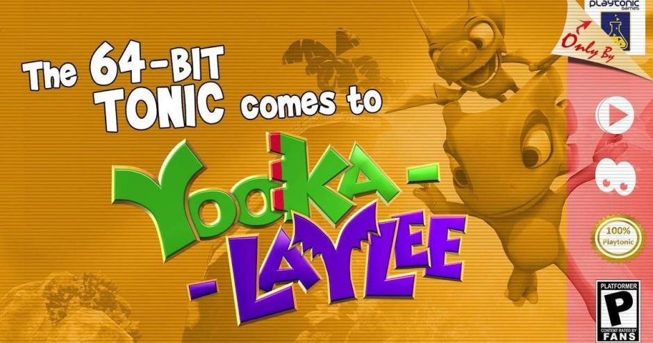 La versión de 64 Bits de Yooka Laylee está en proceso de aprobación