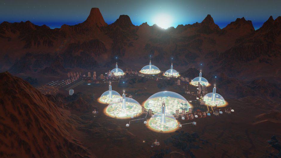 """La expansión """"Space Race"""" de Surviving Mars ya está disponible"""