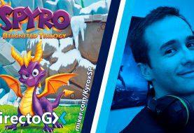 Ya estamos retransmitiendo Spyro: Reignited Trilogy en el #DirectoGX