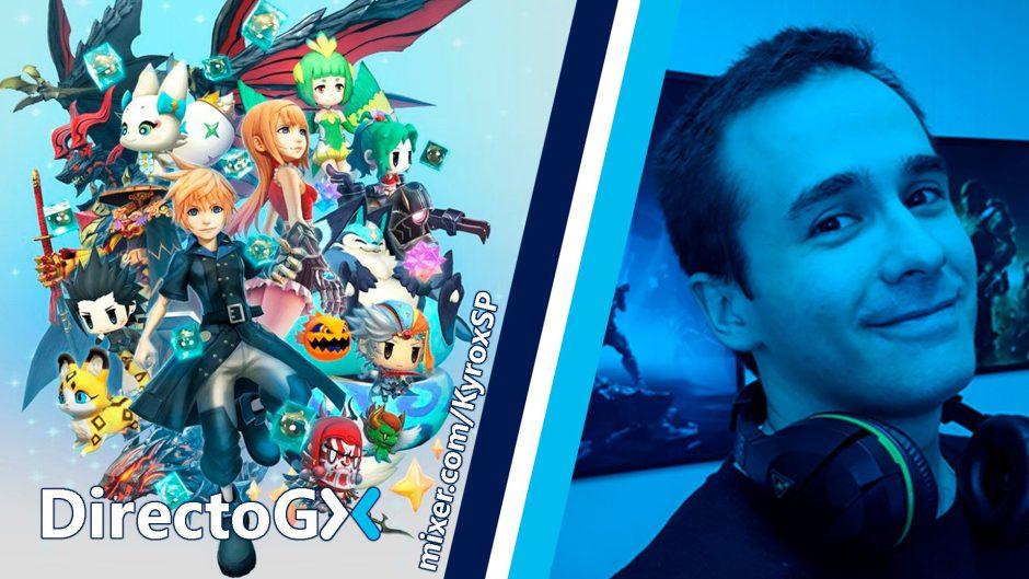 Ya estamos retransmitiendo World of Final Fantasy en el #DirectoGX