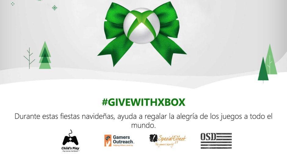 [X018] Microsoft presenta la campaña benéfica #GiveWithXbox
