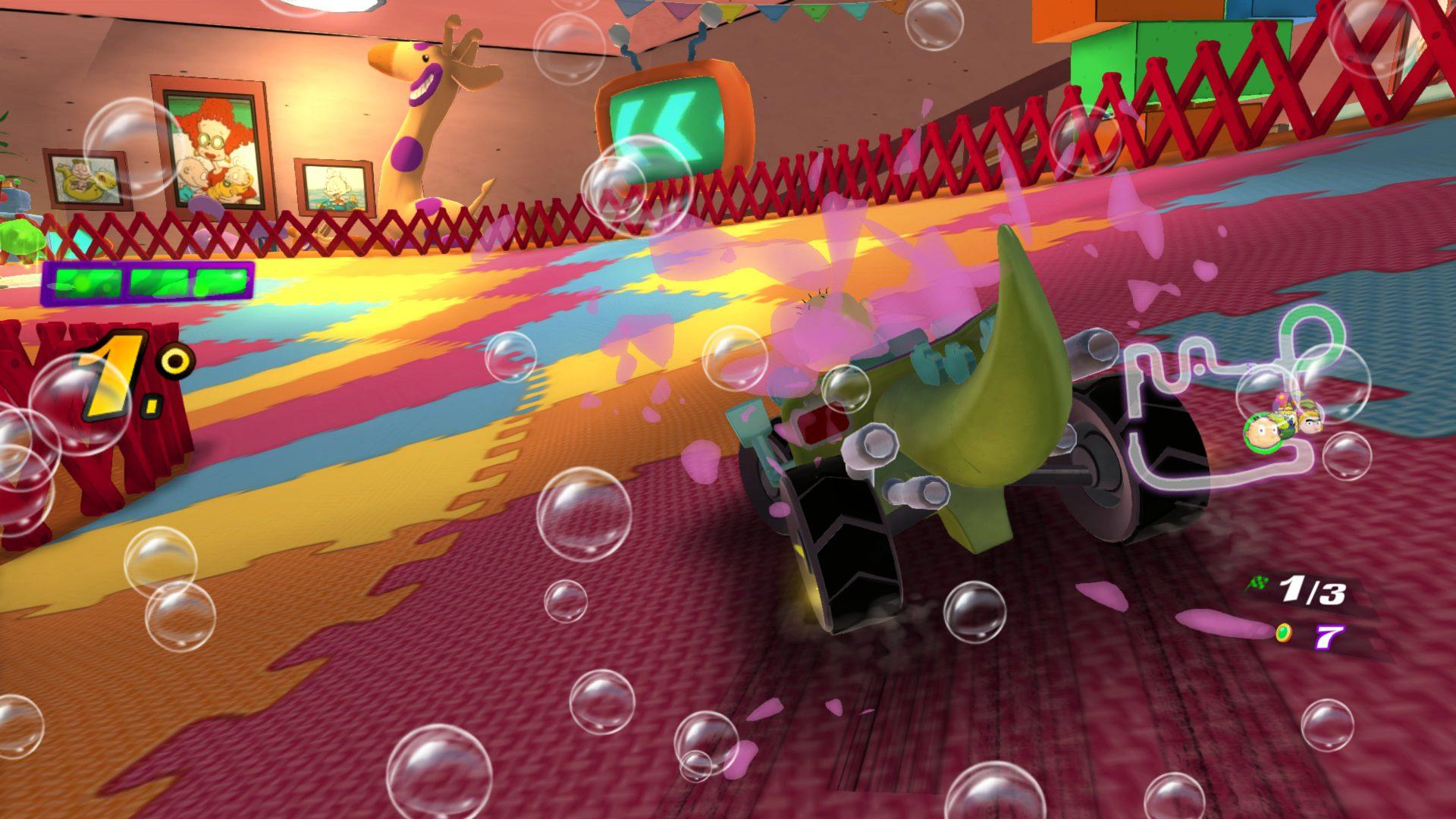 Análisis de Nickelodeon Kart Racers - Analizamos para Xbox One Nickelodeon Kart Racers un juego enfocado para los más pequeños de la casa.