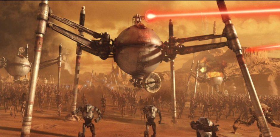 Así es la batalla de Geonosis en Star Wars Battlefront II