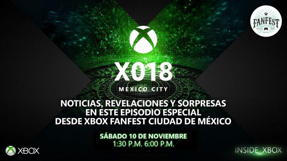 Según Xbox, habrá anuncios espectaculares en el X018