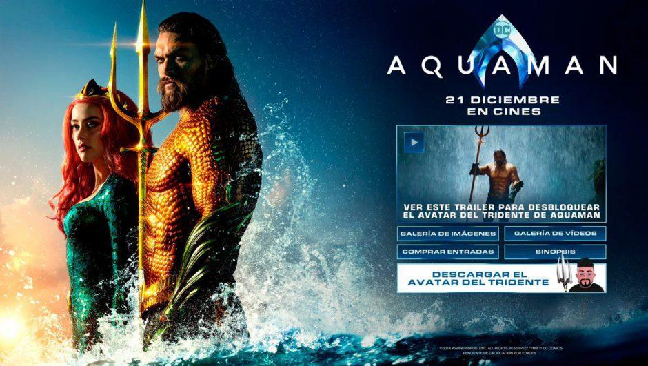 Descarga gratis este tridente de Aquaman para tu avatar