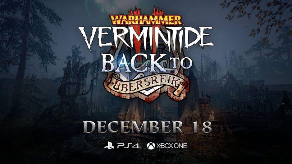 La expansión de Warhammer Vermintide 2: Back to Ubersreik llega el 18 de diciembre