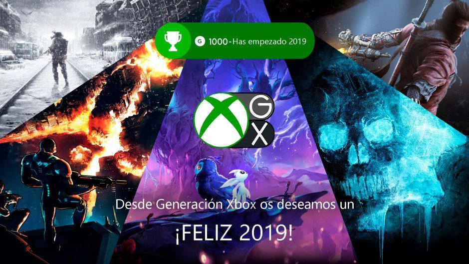El equipo de Generación Xbox os desea feliz año nuevo