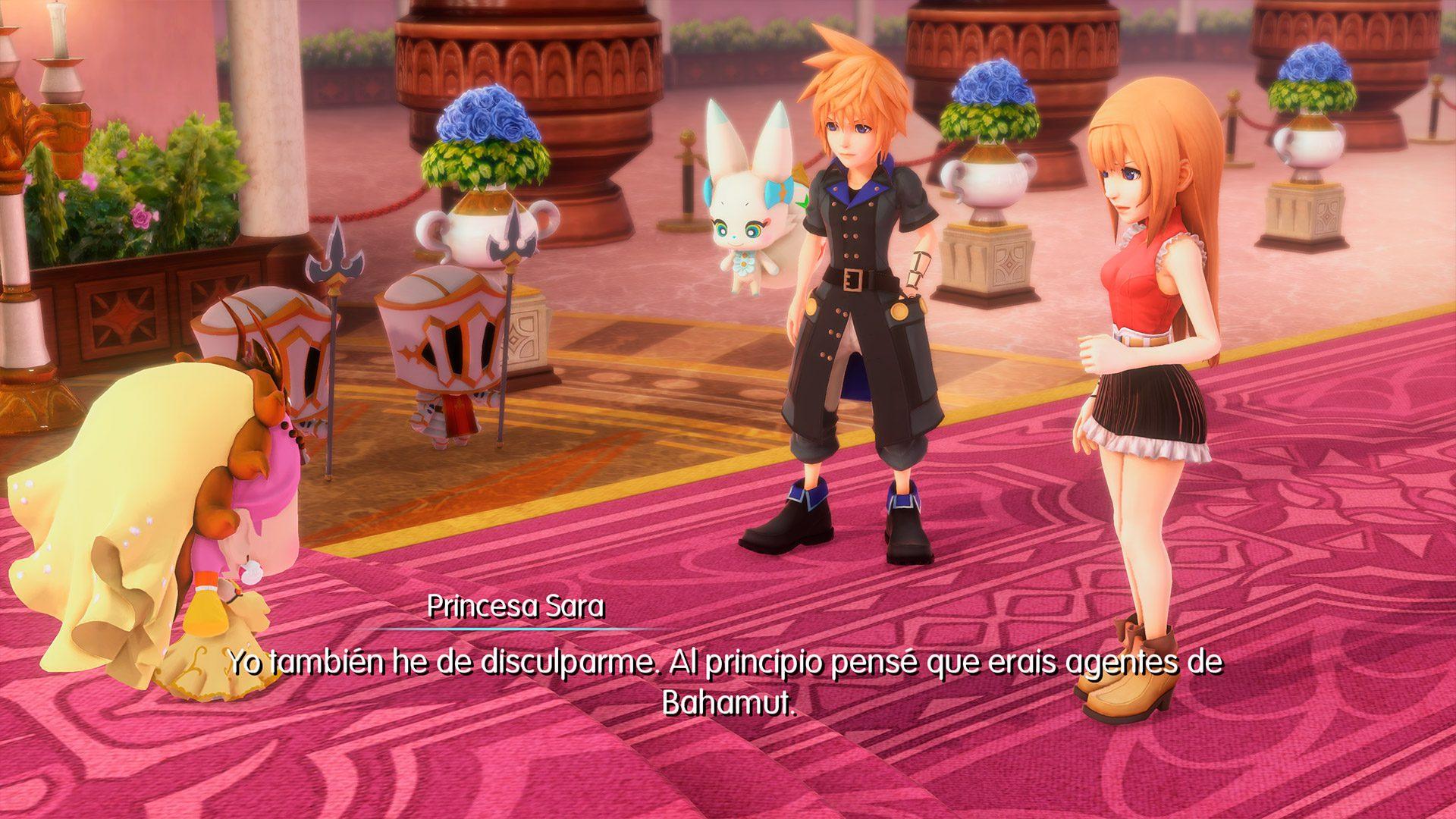 Análisis de World of Final Fantasy Maxima 1