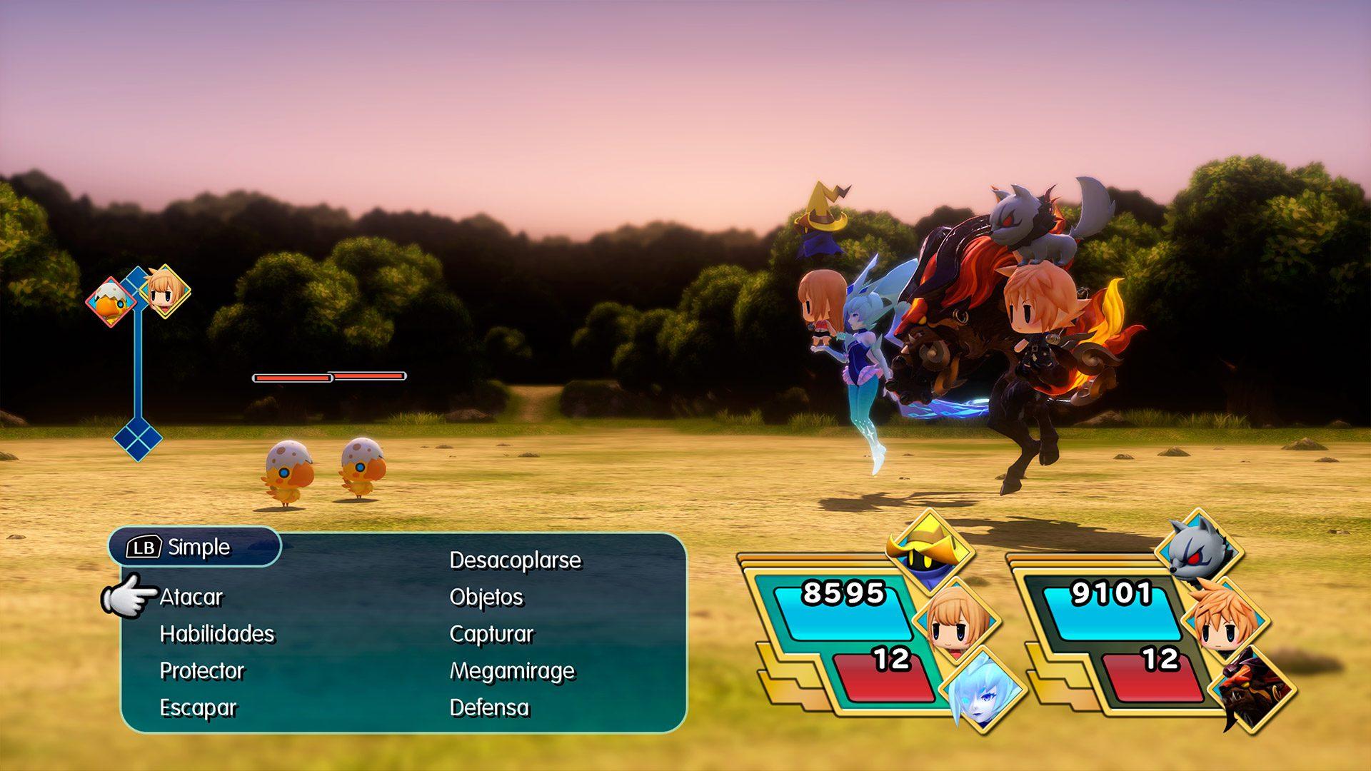 Análisis de World of Final Fantasy Maxima 3