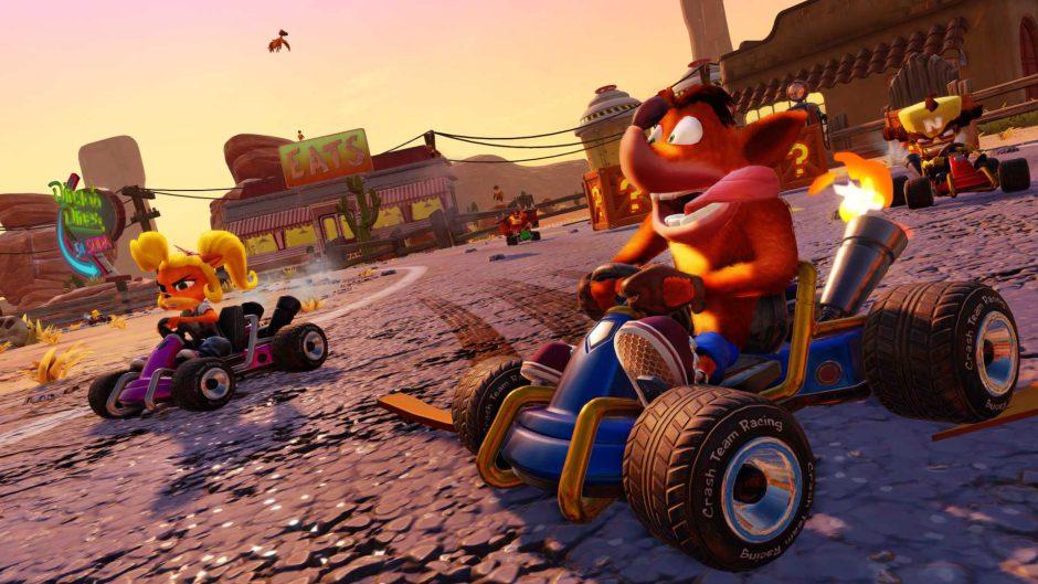 Crash Team Racing: Nitro-Fueled: La mejor versión en consolas es la de Xbox One X