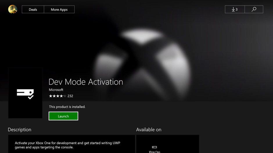 Consigue gratis una cuenta desarrollador para Xbox One e instala aplicaciones, emuladores ¡y mucho más!