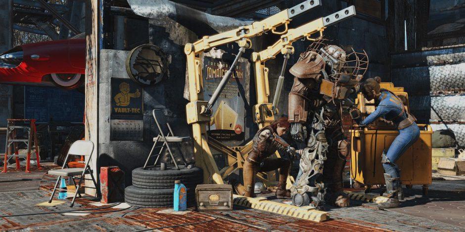 ¿Fallout 4 en un invierno nuclear? Con este mod puedes probarlo