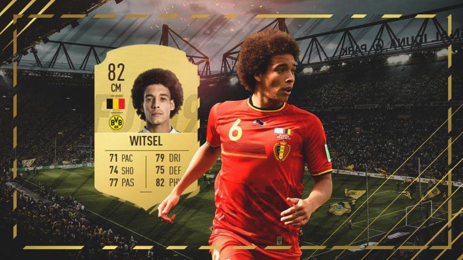 FIFA 19: Axel Witsel del Borussia de Dortmund se queja públicamente a EA Sports