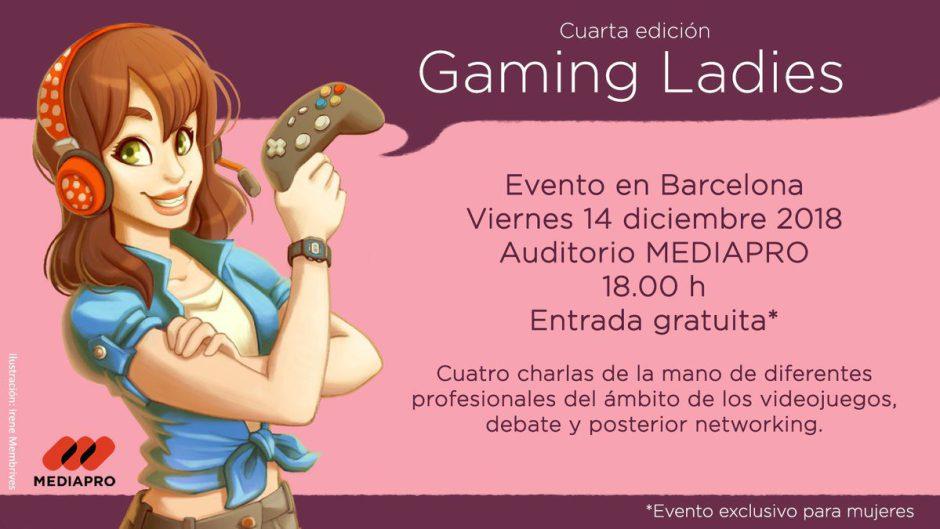 Gaming Ladies anuncia su cuarta edición, fechas y horarios