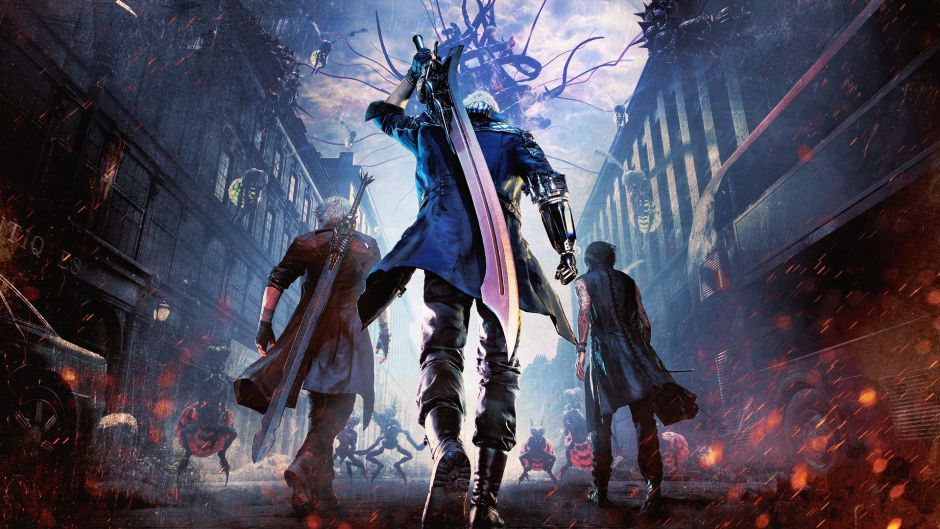 Primeros diecisiete minutos de la historia de Devil May Cry 5
