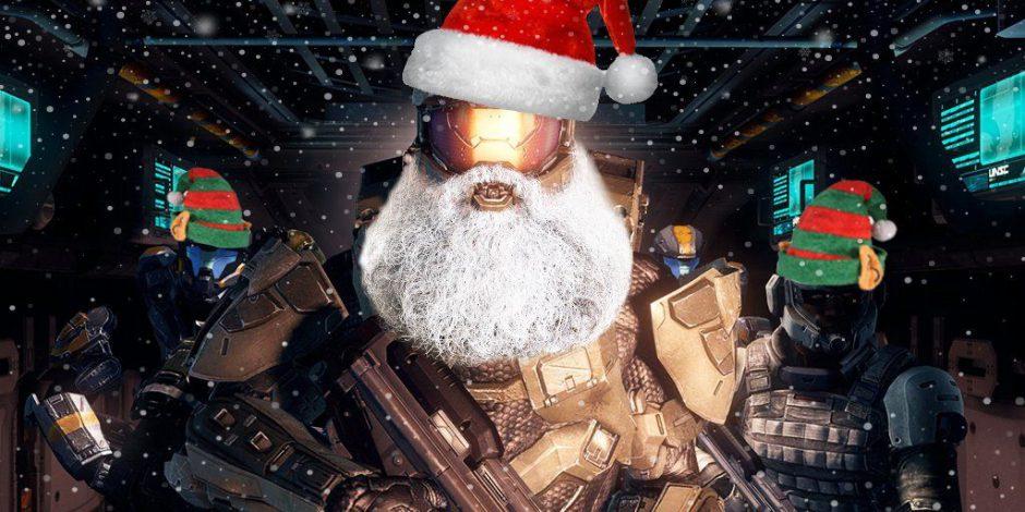 """Halo: El Jefe Maestro es elegido como el """"nuevo"""" Papá Noel"""