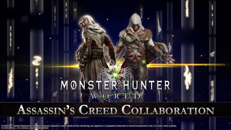 La saga Assassin's Creed se une a Monster Hunter World